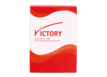 VICTORY Stahlnadel im Papier-Blister 0,25x25 Packung